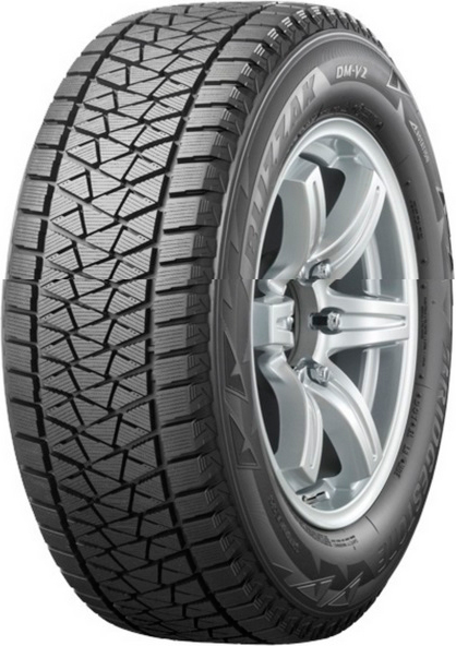 Зимняя шина Bridgestone Blizzak DM-V2 265/60 R18 на Тойота Прадо 150 - артикул: OEM50058