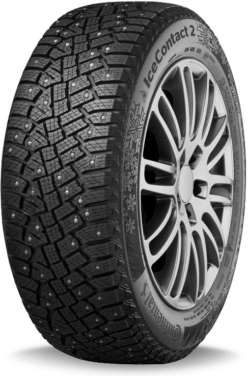 Зимняя шина Continental IceContact 2 SUV (шип) 265/60 R18 на Тойота Прадо 150 - артикул: OEM71617