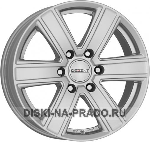 Диск Dezent R17 на Тойота Прадо 150 - артикул:OEM14442