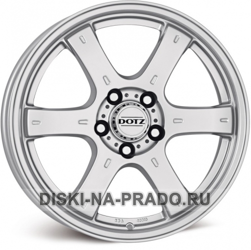 Диск Dotz R17 на Тойота Прадо 150 - артикул:OEM28369