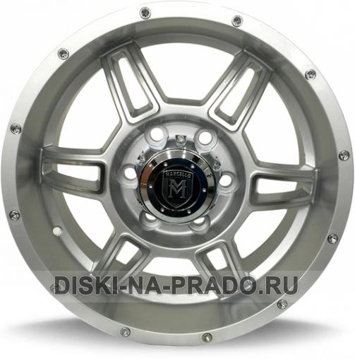 Диск MKW (Mi-tech) R17 на Тойота Прадо 150 - артикул:OEM10828