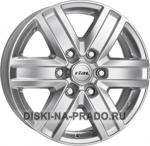 Диск Rial R17 на Тойота Прадо 150 - артикул:OEM10706